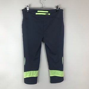Under Armour Pants - UNDER ARMOUR | Neon Yellow & Gray HeatGear Capris